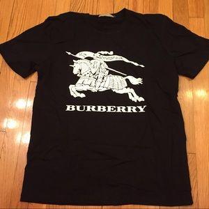 Black Burberry T-shirt